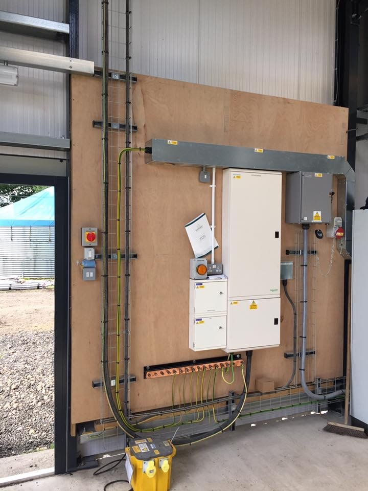 CHP power supply to poultry farm in Lemington Spa