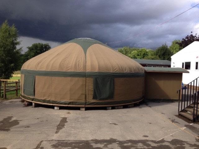 School yurt classroom