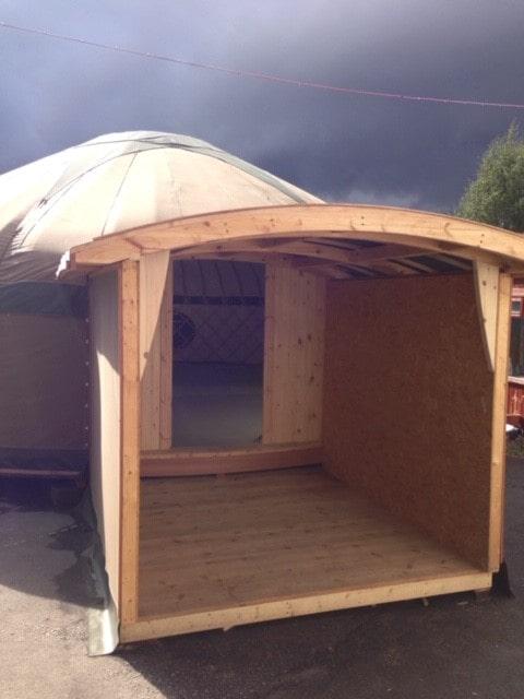 Yurt classroom